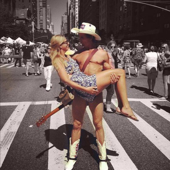 nensi and cowboy yeehaw