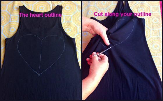 DIY Cutout Dress 2