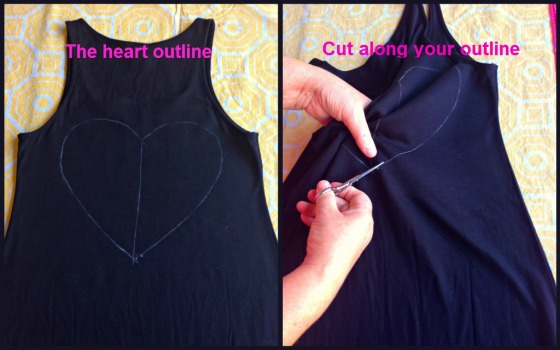 DIY Cutout Dress 2