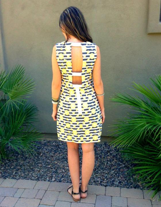 DIY Lemon Dress 3