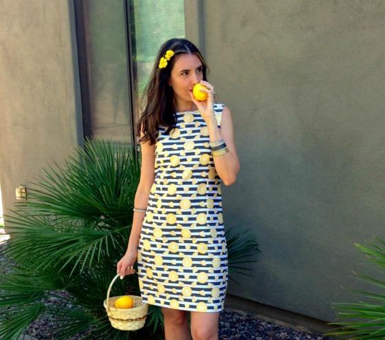 DIY Lemon Dress 4