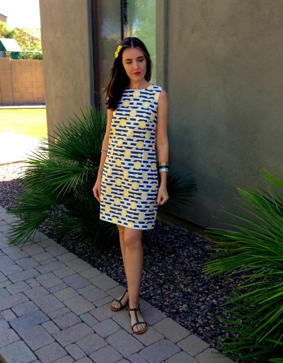 DIY Lemon Dress 6