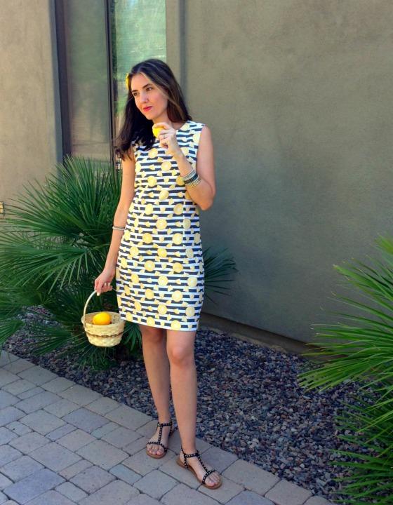 DIY Lemon Dress
