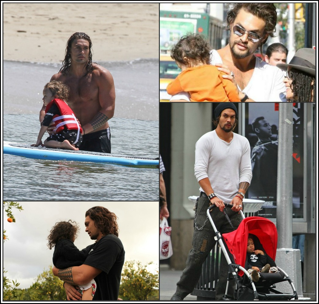 Jason Momoa Son: Saturday Man Candy: The Hottest Dads On The Planet