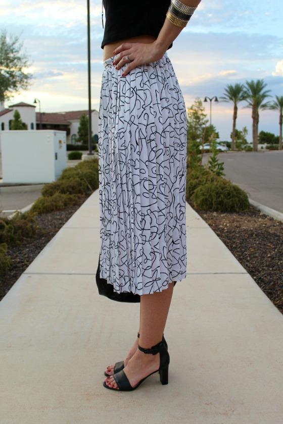 80s Skirt Crop Top 7