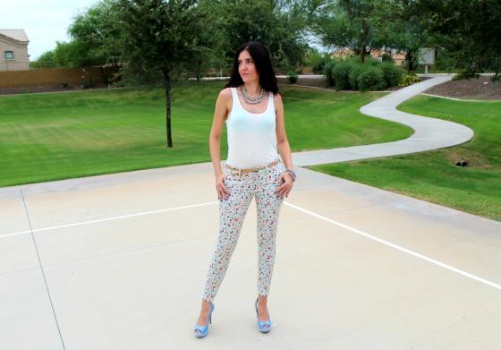 Blue Blazer Skinny Jeans 11