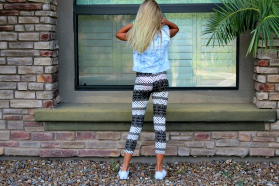 Printed Leggings 17